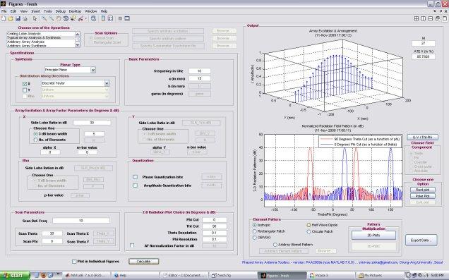 A simple linear Taylor array (rectangular radiation pattern)